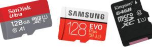 Quel carte mémoire (micro SD) choisir? Comparatif de performance réelle